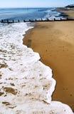 παραλία κενή Στοκ εικόνα με δικαίωμα ελεύθερης χρήσης