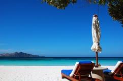 παραλία κλειστή αντιμετώπ& Στοκ εικόνες με δικαίωμα ελεύθερης χρήσης