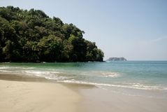 παραλία Κόστα Ρίκα Στοκ Εικόνες