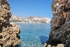 παραλία Κύπρος Στοκ εικόνες με δικαίωμα ελεύθερης χρήσης