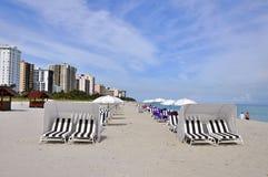 παραλία Μαϊάμι Στοκ φωτογραφίες με δικαίωμα ελεύθερης χρήσης