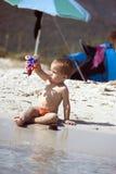 παραλία μωρών Στοκ Εικόνα