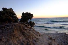 παραλία μόνη Στοκ Εικόνα
