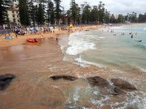 Παραλία νότιου Steyne, ανδρική, Σίδνεϊ, Αυστραλία Στοκ φωτογραφία με δικαίωμα ελεύθερης χρήσης