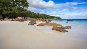 Παραλία παραδείσου στο anse Λάτσιο στις Σεϋχέλλες 12 Στοκ φωτογραφία με δικαίωμα ελεύθερης χρήσης