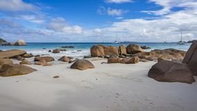 Παραλία παραδείσου στο anse Λάτσιο στις Σεϋχέλλες 12 Στοκ Εικόνες