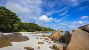 Παραλία παραδείσου στο anse Λάτσιο στις Σεϋχέλλες 33 Στοκ φωτογραφία με δικαίωμα ελεύθερης χρήσης