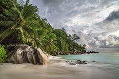 Παραλία παραδείσου στο anse Georgette, praslin, Σεϋχέλλες 12 Στοκ εικόνες με δικαίωμα ελεύθερης χρήσης