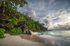 Παραλία παραδείσου στο anse Georgette, praslin, Σεϋχέλλες 22 Στοκ εικόνες με δικαίωμα ελεύθερης χρήσης