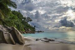 Παραλία παραδείσου στο anse Georgette, praslin, Σεϋχέλλες 4 Στοκ φωτογραφίες με δικαίωμα ελεύθερης χρήσης