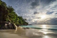 Παραλία παραδείσου στο anse Georgette, praslin, Σεϋχέλλες 17 Στοκ εικόνα με δικαίωμα ελεύθερης χρήσης