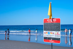 Παραλία παραδείσου Surfers Στοκ φωτογραφία με δικαίωμα ελεύθερης χρήσης