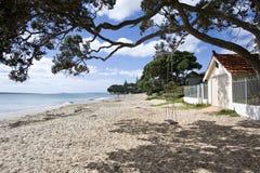 παραλία που εγκαταλείπ&ep Στοκ Φωτογραφία