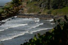 παραλία που κρύβεται Στοκ Φωτογραφίες