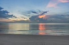 Παραλία πρωινού Στοκ Εικόνες