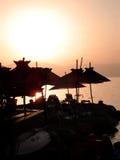 παραλία ράβδων στοκ εικόνες