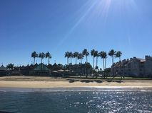 Παραλία Σαν Ντιέγκο Καλιφόρνια Coronado Στοκ φωτογραφίες με δικαίωμα ελεύθερης χρήσης