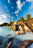 παραλία Σεϋχέλλες στοκ φωτογραφίες με δικαίωμα ελεύθερης χρήσης