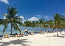 Παραλία σε CocoCay στοκ εικόνες