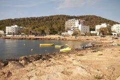 Παραλία σε Sant Antony Στοκ Εικόνες