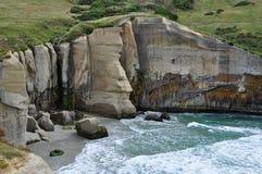 Παραλία σηράγγων - Dunedin στοκ εικόνα