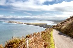 Παραλία σκελών Rossbeigh στοκ φωτογραφία με δικαίωμα ελεύθερης χρήσης