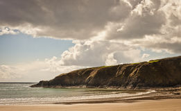 Παραλία στην Ιρλανδία Στοκ φωτογραφία με δικαίωμα ελεύθερης χρήσης