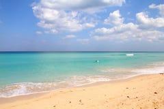 Παραλία στην Κούβα Στοκ εικόνες με δικαίωμα ελεύθερης χρήσης