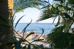 Παραλία στην Τουρκία στοκ εικόνες