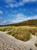 Παραλία στη Δανία bornholm στοκ εικόνες με δικαίωμα ελεύθερης χρήσης
