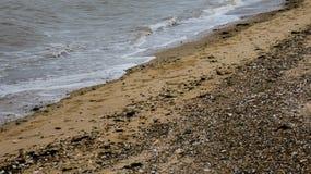 Παραλία στη δύση Mersea, Essex, Αγγλία 6 στοκ φωτογραφία
