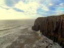 Παραλία στη νότια Βραζιλία - το Rio Grande κάνει τη Sul Στοκ εικόνα με δικαίωμα ελεύθερης χρήσης