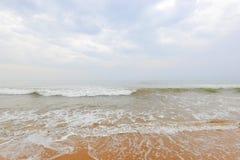 Παραλία στη Σρι Λάνκα στοκ εικόνες