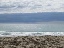 Παραλία στον Ατλαντικό Ωκεανό στην ατλαντική παραλία, NC Στοκ φωτογραφίες με δικαίωμα ελεύθερης χρήσης