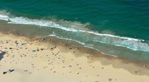 Παραλία στον παράδεισο Surfers στο Gold Coast στην Αυστραλία στοκ εικόνες