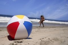 παραλία σφαιρών στοκ φωτογραφία με δικαίωμα ελεύθερης χρήσης