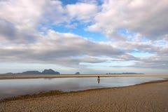Παραλία Ταϊλάνδη, παραλία Trang Pakmeng Στοκ εικόνα με δικαίωμα ελεύθερης χρήσης
