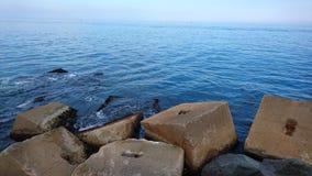 Παραλία της Βαρκελώνης Στοκ Εικόνες
