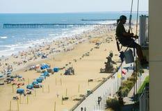 Παραλία της Βιρτζίνια, Βιρτζίνια, ΗΠΑ στοκ φωτογραφία με δικαίωμα ελεύθερης χρήσης
