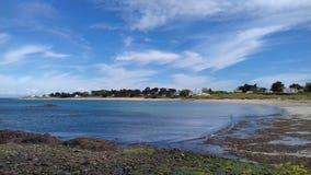Παραλία της Γαλλίας Στοκ φωτογραφία με δικαίωμα ελεύθερης χρήσης