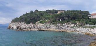 Παραλία της Κέρκυρας, Πόρτο Timoni Afionas Στοκ φωτογραφίες με δικαίωμα ελεύθερης χρήσης