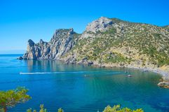 Παραλία της Κριμαίας Στοκ Εικόνες