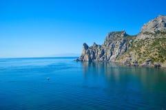 Παραλία της Κριμαίας Στοκ Φωτογραφίες