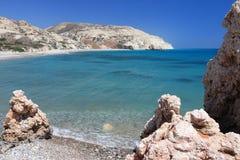 Παραλία της Κύπρου Στοκ φωτογραφίες με δικαίωμα ελεύθερης χρήσης