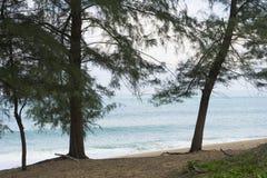 Παραλία της Mai Khao σε Phuket, Ταϊλάνδη Στοκ εικόνα με δικαίωμα ελεύθερης χρήσης