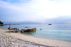 παραλία τοπίου Στοκ φωτογραφία με δικαίωμα ελεύθερης χρήσης