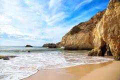 Παραλία του Αλγκάρβε, Πορτογαλία Στοκ φωτογραφία με δικαίωμα ελεύθερης χρήσης