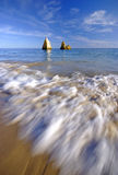 παραλία του Αλγκάρβε Στοκ Εικόνες