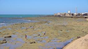 Παραλία του Καντίζ απόθεμα βίντεο