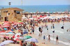 Παραλία του Τελ Αβίβ Στοκ εικόνα με δικαίωμα ελεύθερης χρήσης